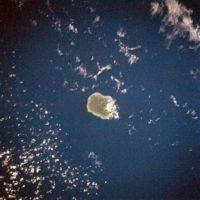 Raratonga from space