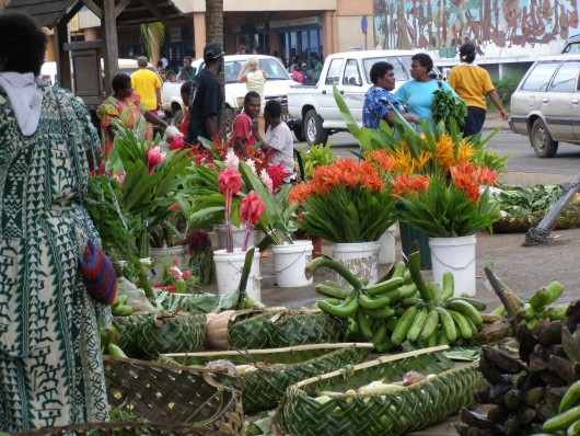 market place port vila