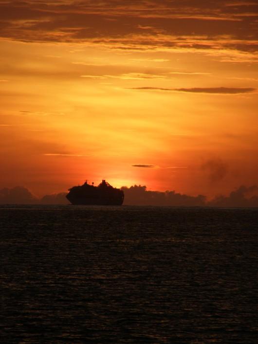 sunset Vanuatu